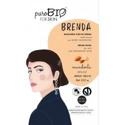 Maschera Viso Brenda - Mandorla - PuroBIO FOR SKIN
