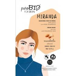 Maschera Viso Miranda - Mandorla - PuroBIO FOR SKIN