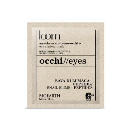 Maschera contorno-occhi Bava di lumaca + peptidi - Bioearth