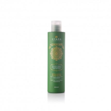 Hyalurvedic Shampoo Fortificante - Methi, Maca, Hennè Neutro - Gyada Cosmetics