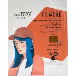 Maschera Viso Claire - Career Girl - PuroBIO FOR SKIN