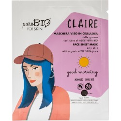 Maschera Viso Claire - Good Morning - PuroBIO FOR SKIN