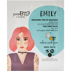 Maschera Viso Emily - Relax and Fun - PuroBIO FOR SKIN