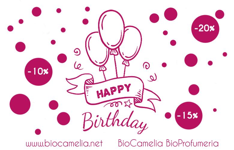 3 compleanno BioCamelia CLICCA QUI PER LA PROMO IN CORSO